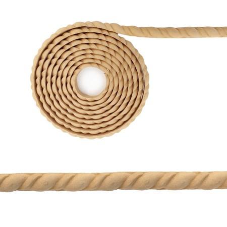 Listwa, półwałek z pyłu drzewnego w rolce – F574046