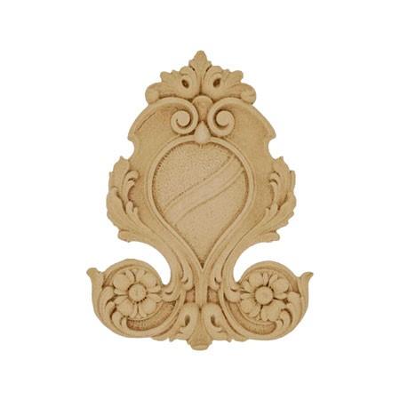 Ornament , kartusz z pyłu drzewnego F560361