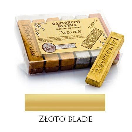 Pałeczka woskowa metaliczne złoto blade – M01065