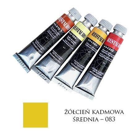 Farba Restauro 20ml, 083 - żółcień kadmowa średnia – MA00083