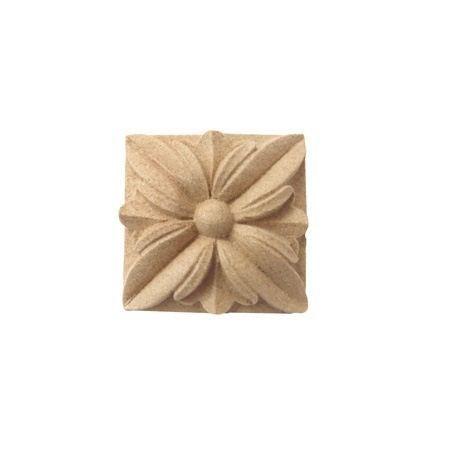 Ornament kwadratowy z pyłu drzewnego F560004