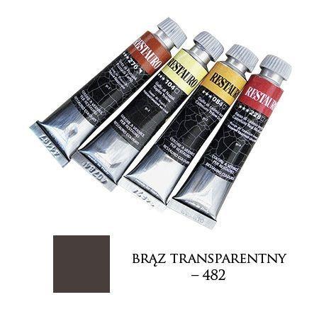 Farba Restauro 20ml, 482 - brąz transparentny – MA00482