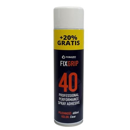 KLEJ FIXGRIP 40 W SPRAYU 600 ml -  FG00001