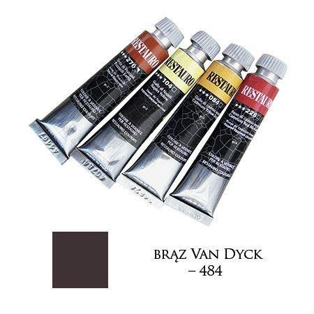 Farba Restauro 20ml, 484 - brąz Van Dyck – MA0484
