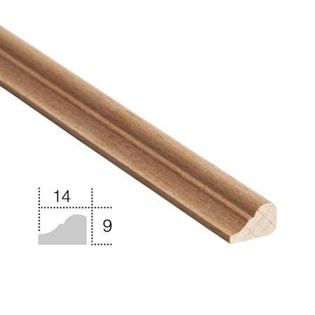 listwa drewniana,  ćwierćwałek  EM00604L