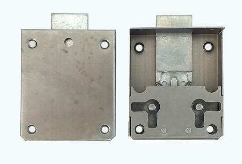 Zamek meblowy nakładany - 15 mm - prawy/lewy F775315