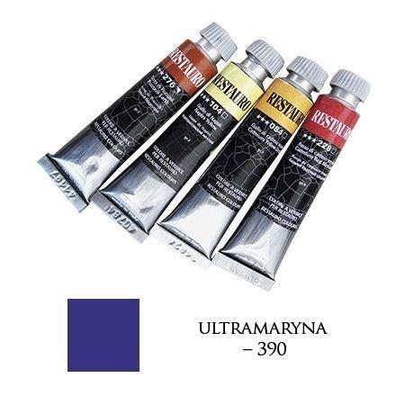 Farba Restauro 20ml, 390 - ultramaryna – MA00390