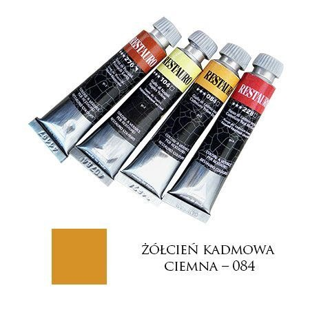 Farba Restauro 20ml, 084 - żółcień kadmowa ciemna – MA0084