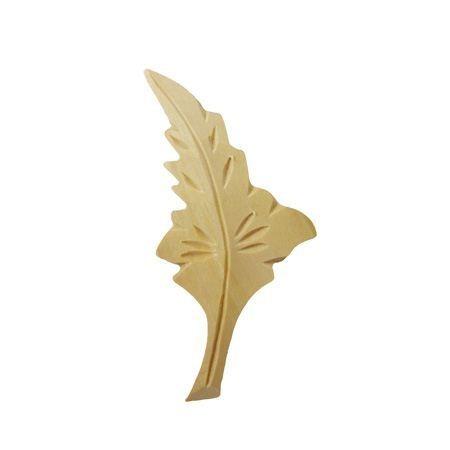 Ornament , dekor  drewniany ręcznie rzeźbiony  prawy WY00058P