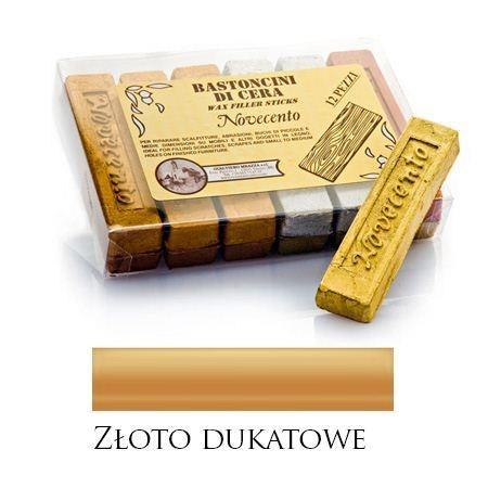 Pałeczka woskowa metaliczne złoto dukatowe – M01064