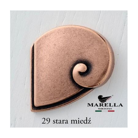 Uchwyt do mebli Nautilus stara miedź 15195Z1600M.29