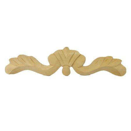 Ornament , aplikacja drewniana ręcznie rzeźbiona  WY00046
