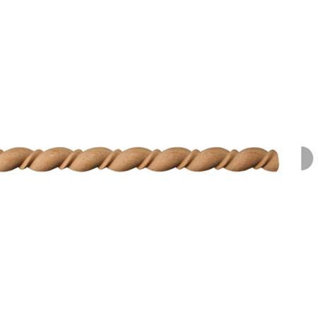 listwa drewniana półwałek EM00074M