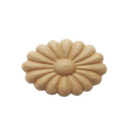 Ornament  owalny z pyłu drzewnego F560016