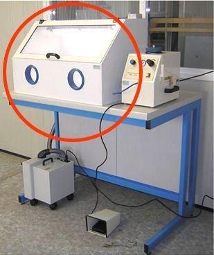 Kabina do mikropiaskarki B10099