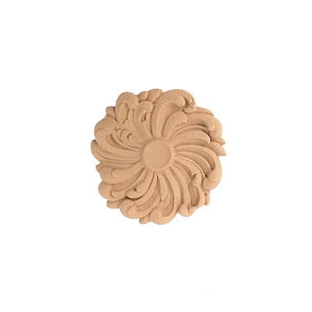 Rozeta kwiatowa z pyłu drzewnego F571184