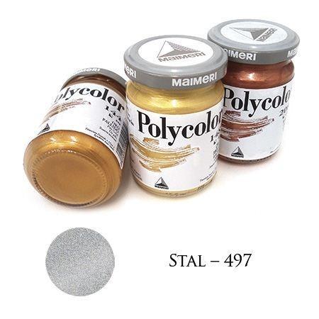 Farba akrylowa metaliczna stal 140 ml – MA01068