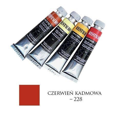 Farba Restauro 20ml, 228 - czerwień kadmowa – MA00228