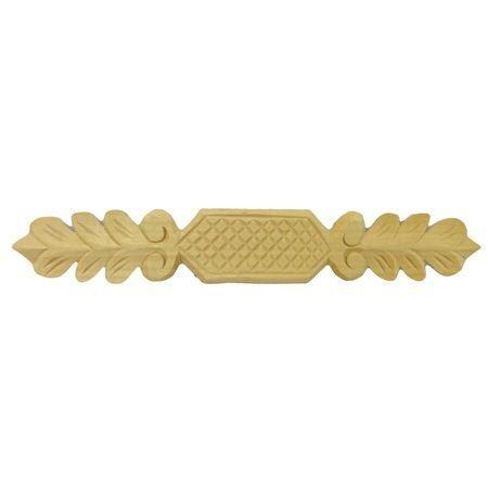 Ornament, aplikacja drewniana ręcznie rzeźbiona  WY00040