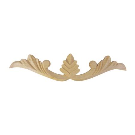 Ornament, aplikacja drewniana ręcznie rzeźbiona  WY00025