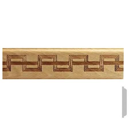listwa drewniana ozdobna z wzorem EM00521