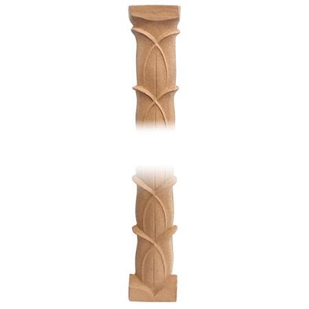 Pilaster , Listwa , ornament z pyłu drzewnego F560408