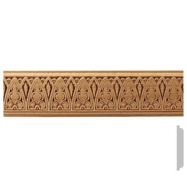 listwa drewniana ozdobna z wzorem EM00518