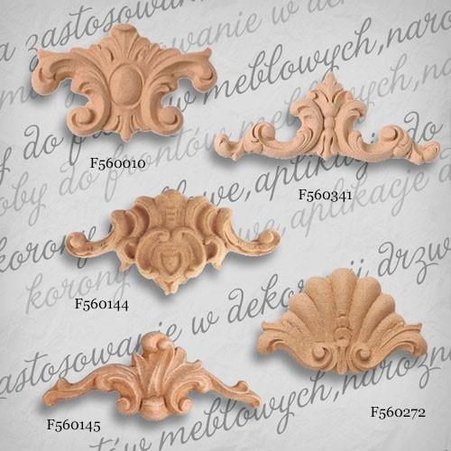 Ornament dekor z pyłu drzewnego  F560010