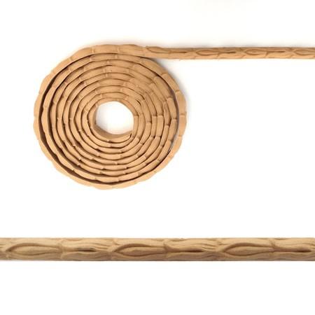 Listwa, półwałek z pyłu drzewnego w rolce – F574012