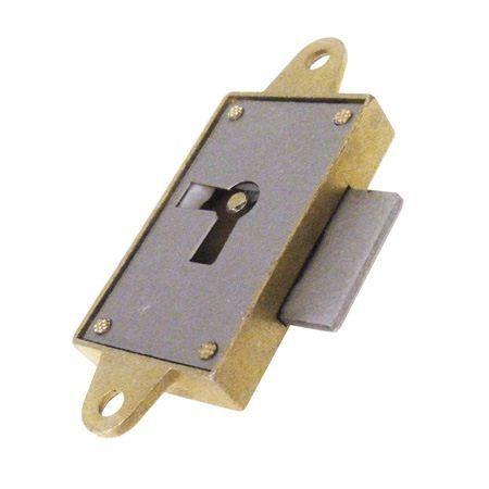 Zamek meblowy nakładany - 30 mm - lewy 39039Z030S0.4I