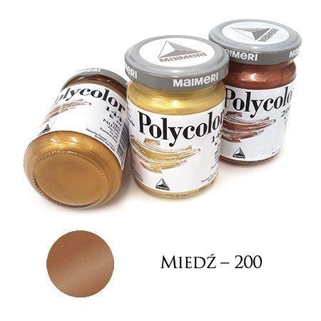 Farba akrylowa metaliczna miedź 140 ml – MA01066