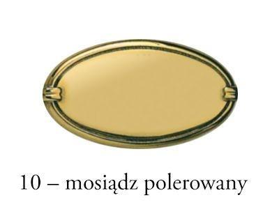 Gałka meblowa z litego mosiądzu Egea GN00012OL