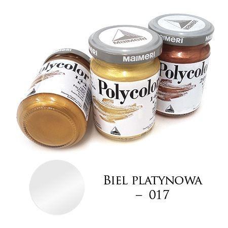 Farba akrylowa metaliczna biel platynowa 140 ml – MA01063