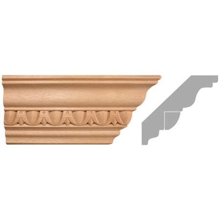 listwa, gzyms drewniany rzeźbiony EM00285