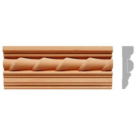 listwa, gzyms drewniany rzeźbiony EM00295