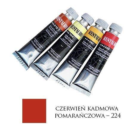 Farba Restauro 20ml, 224 - czerwień kadmowa pomarańczowa – MA0224