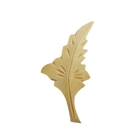 Ornament drewniany rzeźbiony ręcznie lewy WY00058L