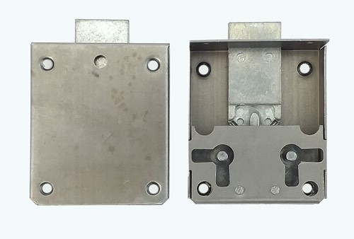 Zamek meblowy nakładany- 40 mm - prawy/lewy F775340