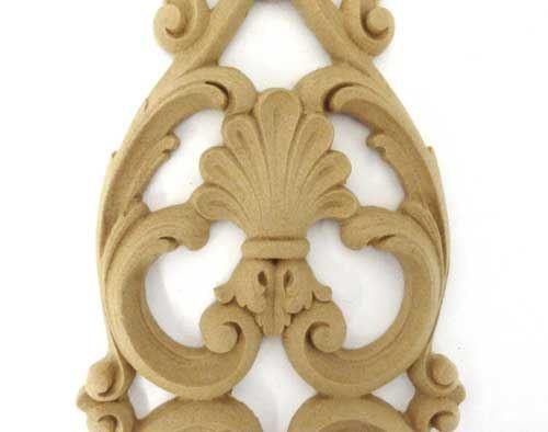 Ornament  aplikacja  z pyłu drzewnego  F560403