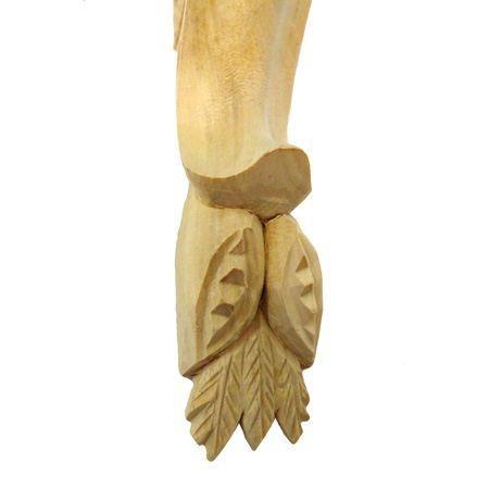 Ornament , podpora drewniana ręcznie rzeźbiona WY00061