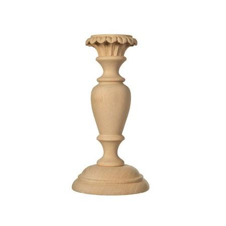 Podstawa drewniana do świecznika lub lampy – L00350P