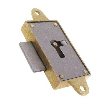 Zamek meblowy nakładany - 20 mm - prawy 39039Z020D0.4I