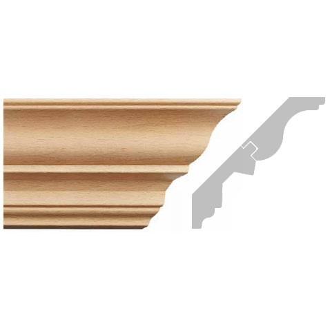 listwa, gzyms drewniany rzeźbiony EM00410