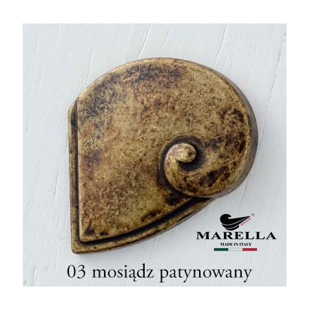 Ornament mosiężny lewy 45268.055S0.03