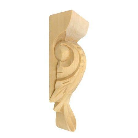 Ornament , podpora drewniana ręcznie rzeźbiona  WY00084
