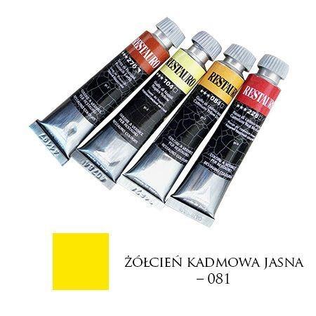 Farba Restauro 20ml, 081 - żółcień kadmowa jasna – MA00081