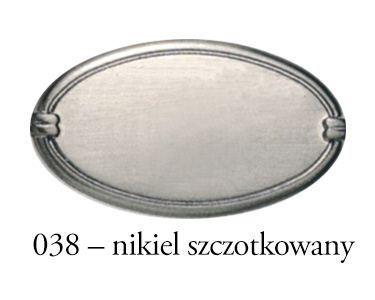 Gałka meblowa  Egg 8852.038