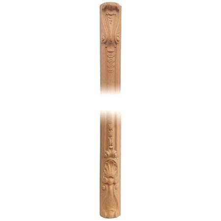 Pilaster, ornament z pyłu drzewnego F560523