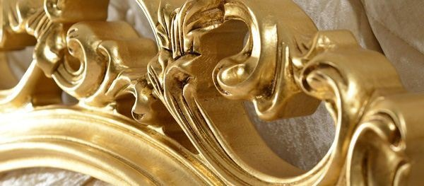 Ornament  do łóżek z pyłu drzewnego Versace F560888