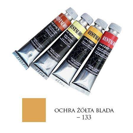 Farba Restauro 20ml, 133 - ochra żółta blada – MA00133